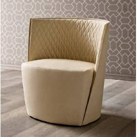 Кресло Camelgroup Daytona, ткань Nabuk 11 Avorio