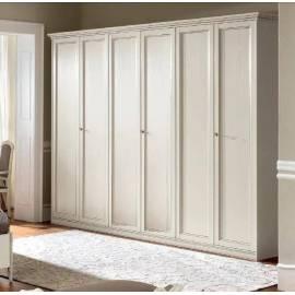 Шкаф 6-дверный Camelgroup Nostalgia Bianco Antico, низкий