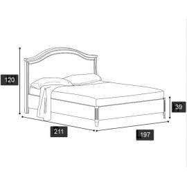 Кровать Nostalgia Ricordi Camelgroup 180х200 без ковки