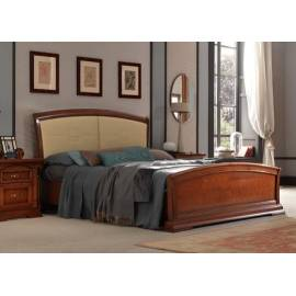Кровать Palazzo Ducale Ciliegio Prama 160 см с изножьем, мягкое изголовье