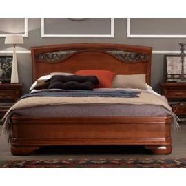Кровать 140х200 Palazzo Ducale Ciliegio Prama с ковкой без изножья 71CI53LT