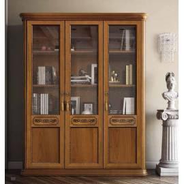 Библиотека 3 дв. Torriani Noce Camelgroup, двери дерево, полки стекло