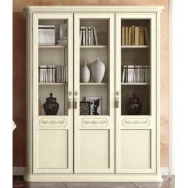 Библиотека 3 дв. Torriani Avorio Camelgroup, двери дерево, полки стекло