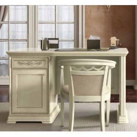 Письменный стол 140 Torriani Avorio Camelgroup, с дверью