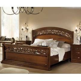 Кровать Torriani Noce Camelgroup, 160 см с изножьем