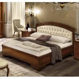 Кровать Torriani Noce Camelgroup, 160 см без изножья с обивкой