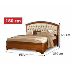 Кровать Torriani Noce Camelgroup, 180 см без изножья с обивкой