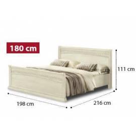Кровать Tiziano Torriani Noce Camelgroup, 160 см с изножьем