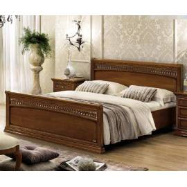 Кровать Tiziano Torriani Noce Camelgroup, 180 см с изножьем