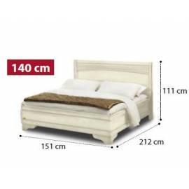 Кровать Tiziano Torriani Noce Camelgroup, 140 см без изножья