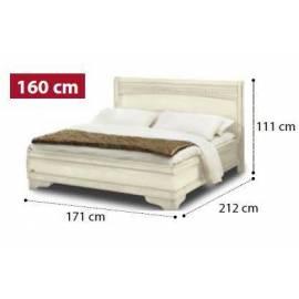 Кровать Tiziano Torriani Noce Camelgroup, 160 см без изножья