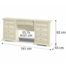 Стол туалетный Maxi Torriani Noce Camelgroup, с ящиком