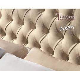 Кровать Torriani Avorio Camelgroup, 160 см без изножья с обивкой