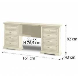 Стол туалетный Maxi Torriani Avorio Camelgroup; размеры