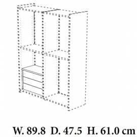 Кассетница в шкаф Torriani Camelgroup, 3 ящика