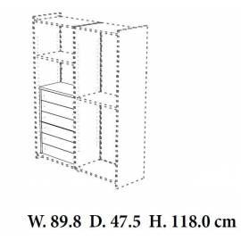 Кассетница в шкаф Torriani Camelgroup, 6 ящиков
