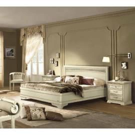 Кровать Tiziano Torriani Avorio Camelgroup, 140 см без изножья