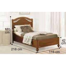 Кровать Siena Camelgroup, 100 см без изножья