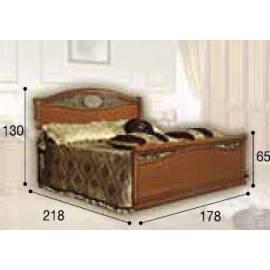 Кровать Siena Ferro Camelgroup, 160 см с изножьем