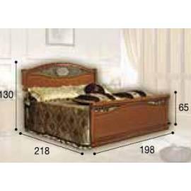 Кровать Siena Ferro Camelgroup, 180 см с изножьем