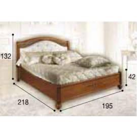 Кровать Siena Camelgroup, 180 см, обивка ткань, без изножья