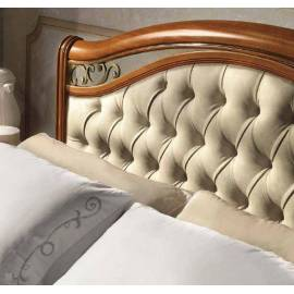 Кровать Siena Capitonné Camelgroup, 160 см, обивка экокожа с изножьем