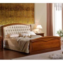 Кровать Nostalgia Camelgroup 160х200 с обивкой, ковкой, изножьем