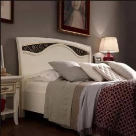 Кровать Palazzo Ducale Laccato Prama 140 см с ковкой без изножья