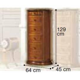 Комод высокий Siena Camelgroup, закруглённый