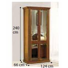 Шкаф 2-дверный Siena Camelgroup, с зеркалами