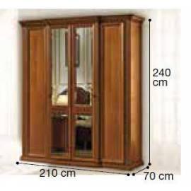 Шкаф 4-дверный Siena Camelgroup