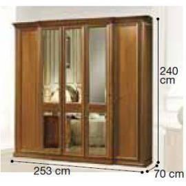 Шкаф 5-дверный Siena Camelgroup, с зеркалами
