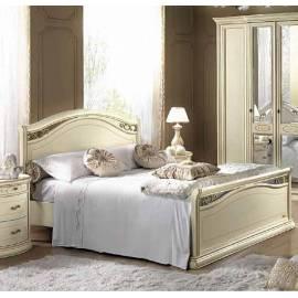 Кровать Siena Avorio Legno Camelgroup, 140 см с изножьем