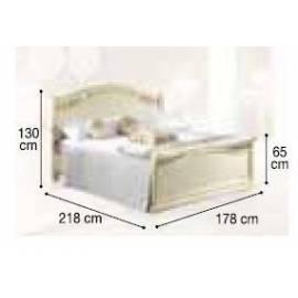 Кровать Siena Avorio Legno Camelgroup, 160 см с изножьем