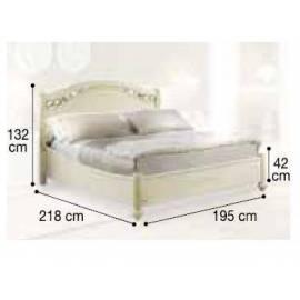 Кровать Siena Avorio Legno Camelgroup, 180 см без изножья
