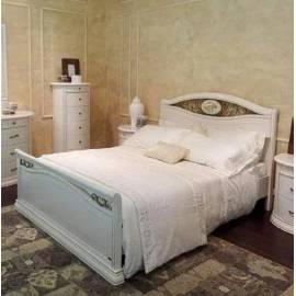 Кровать Siena Avorio Ferro Camelgroup, 160 см с изножьем