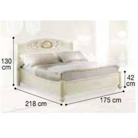 Кровать Siena Avorio Ferro Camelgroup, 160 см без изножья