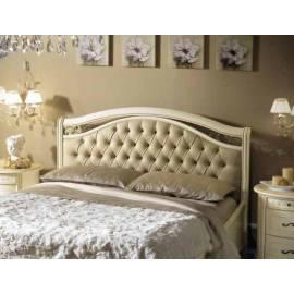 Кровать Siena Avorio Capitonné Camelgroup, 160 см, обивка экокожа с изножьем