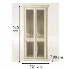 Шкаф 2-дверный Siena Avorio Camelgroup, с зеркалами