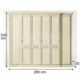 Шкаф 6-дверный Siena Avorio Camelgroup