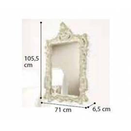 Зеркало прямоугольное Siena Avorio Camelgroup