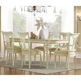 Стол обеденный 200/290 Siena Day Avorio Camelgroup, прямоугольный раскладной