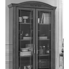 Шкаф книжный Siena Day Avorio Camelgroup, с дверями