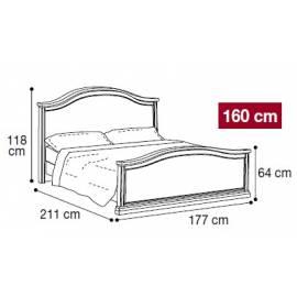 Кровать Nostalgia Camelgroup 160х200