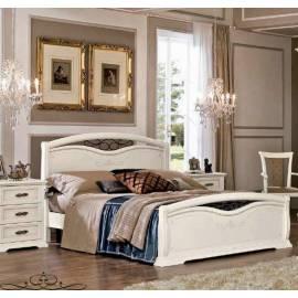 Кровать 140 см Maronese Afrodita изножье с ковкой