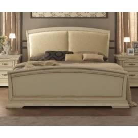 Кровать Palazzo Ducale Laccato Prama 140 см с мягким изголовьем и изножьем