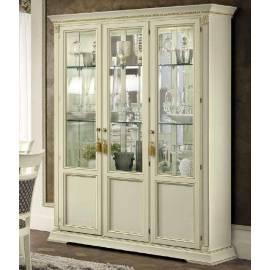 Витрина 3 дверная Camelgroup Treviso Frassino полки стекло