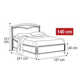 Кровать Nostalgia Camelgroup 140х200
