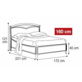 Кровать Nostalgia Camelgroup 160х200 см