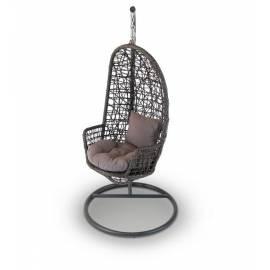 Кресло подвесное плетёное 4SIS Венеция темно-коричневое